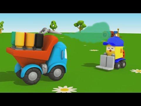 Leo Junior und die Farbkanone - Wir malen Lifty an - Cartoon für Kinder