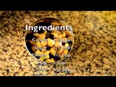 How To Make Tasty Carrot Halwa   sweets recipes   How to make indian sweets recipes