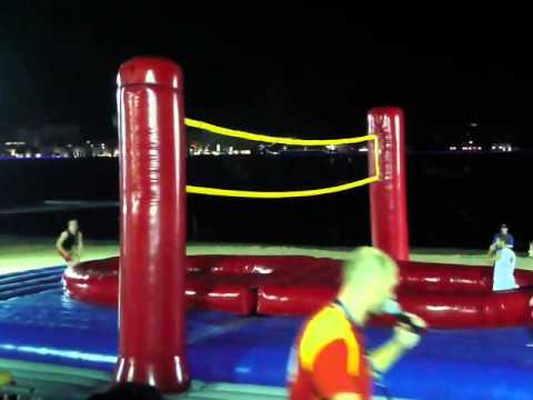 Bossaball @ Qatar Marine Festival 2010
