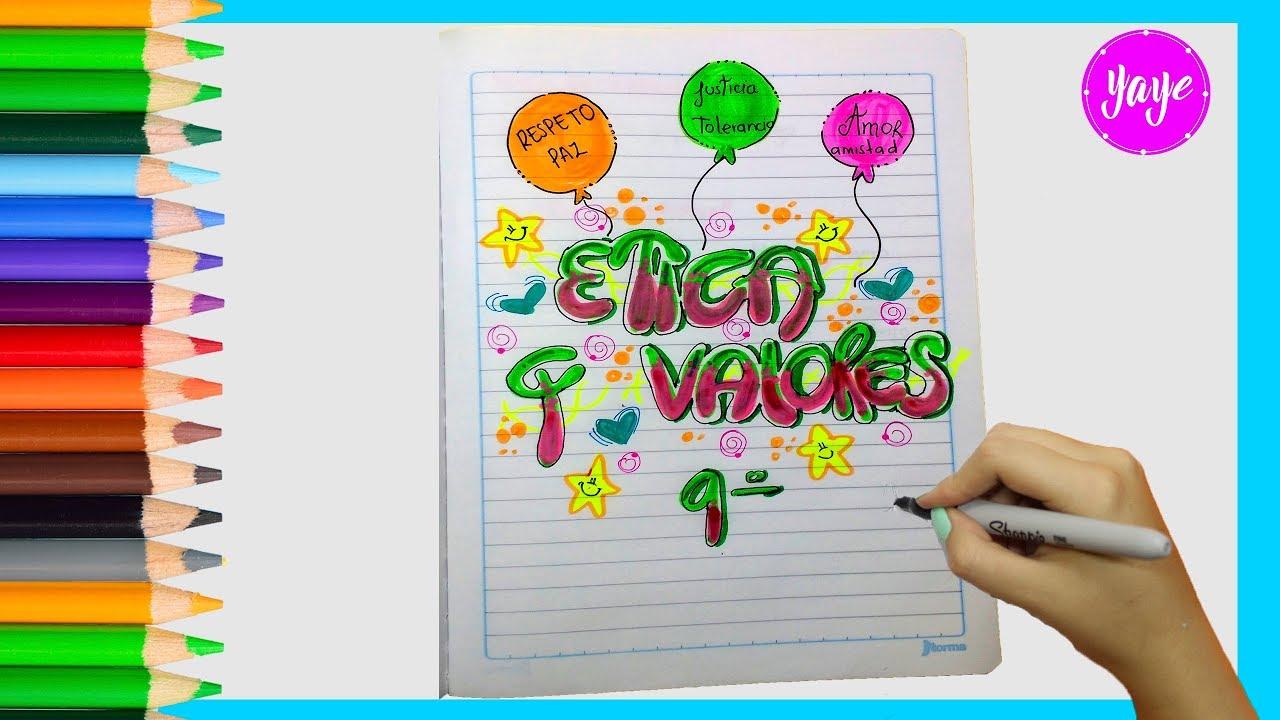 Portadas Para Cuadernos Y Libretas Con DiseÑos Marinos: Cuaderno Letra Timoteo Ideas Frases Caratulas Para Cuadernos