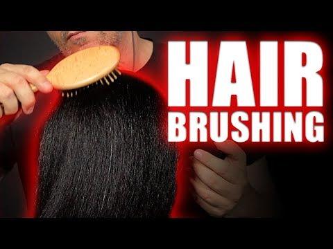 ASMR   Hair Brushing And Scalp Massage   NO TALKING   1 Hour