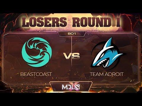 beastcoast vs Team Adroit - MDL Chengdu Major: Losers' Round 1