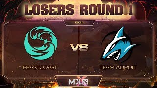 beastcoast vs Team Adroit - MDL Chengdu Major: Losers' Round 1