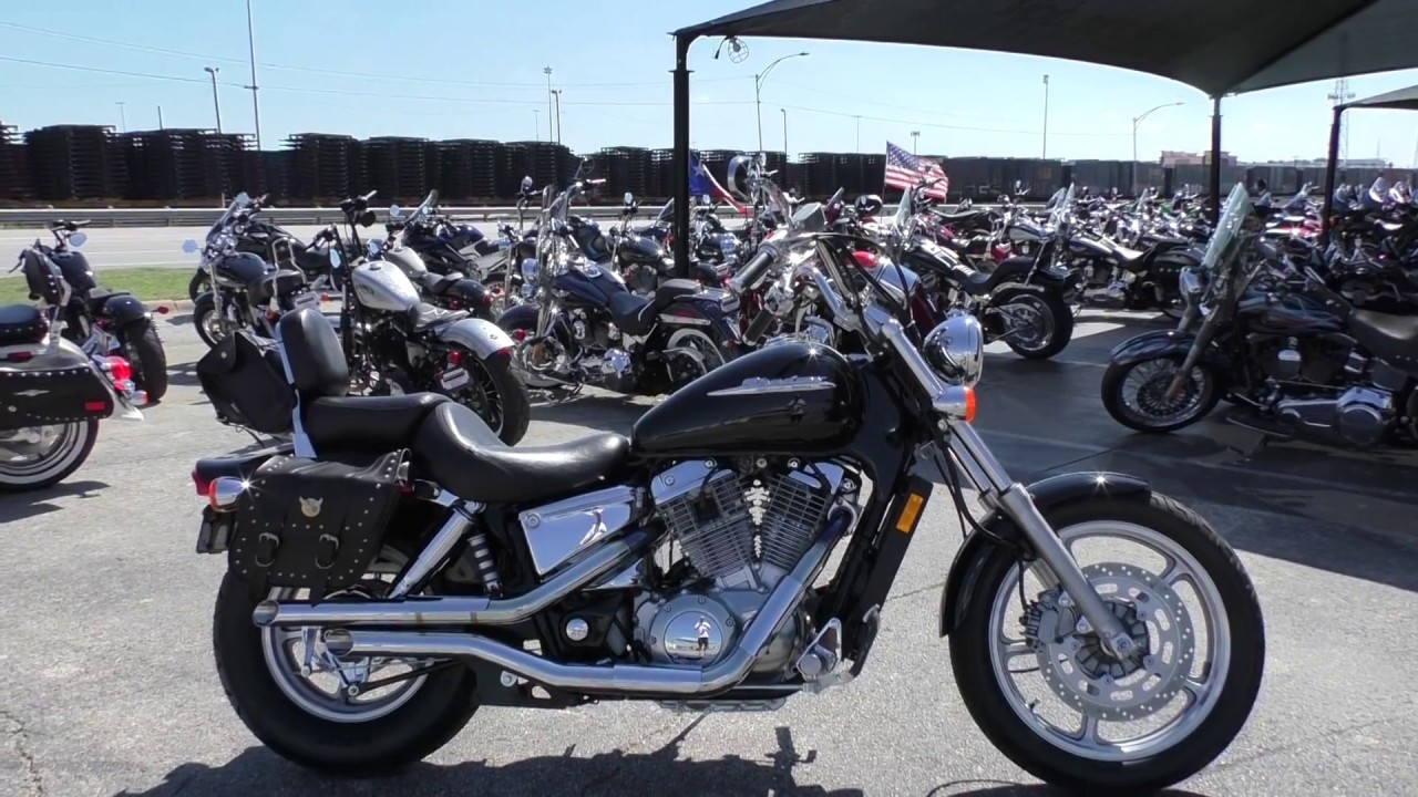 603055 2002 honda shadow spirit vt1100c used motorcycles for sale [ 1280 x 720 Pixel ]