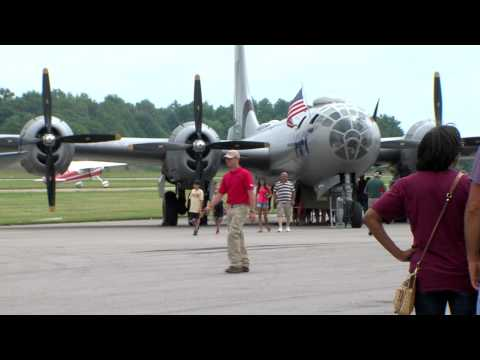 Commemorative Air Force Air Show at Marion, Illinois