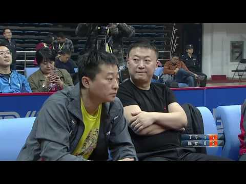 2016 China Table Tennis Super League: DING NING vs CHEN MENG