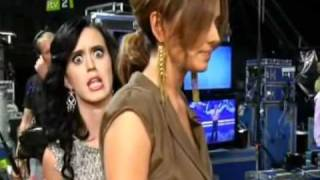 Cheryl Cole and Katy Perry The X Factor 19   YouTube2