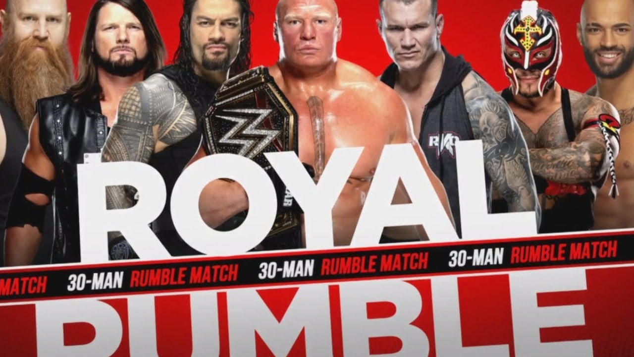 WWE 2k20 ROYAL RUMBLE MATCHES LIVE - YouTube