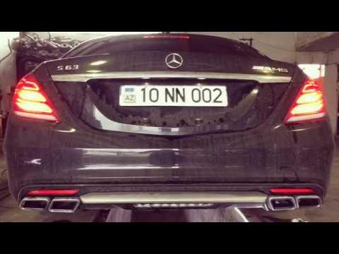 Mercedes-Benz S63 Amg W222, Performans Egzoz Sesi
