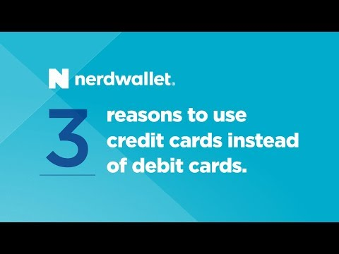 3 reasons to use credit cards instead of debit cards