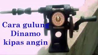 cara gulung dinamo kipas angin 1