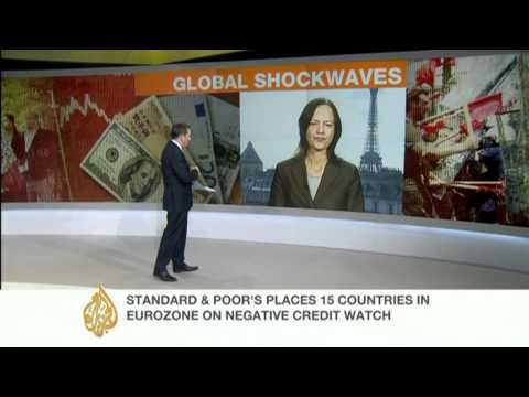 AJE takes a look at Europe's credit rating