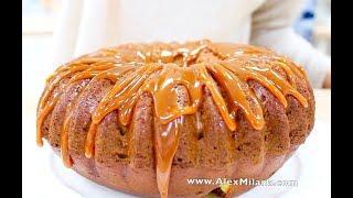 ТЫКВЕННЫЙ пирог КЕКС с КАРАМЕЛЬЮ /   PUMPKIN BANDT CAKE