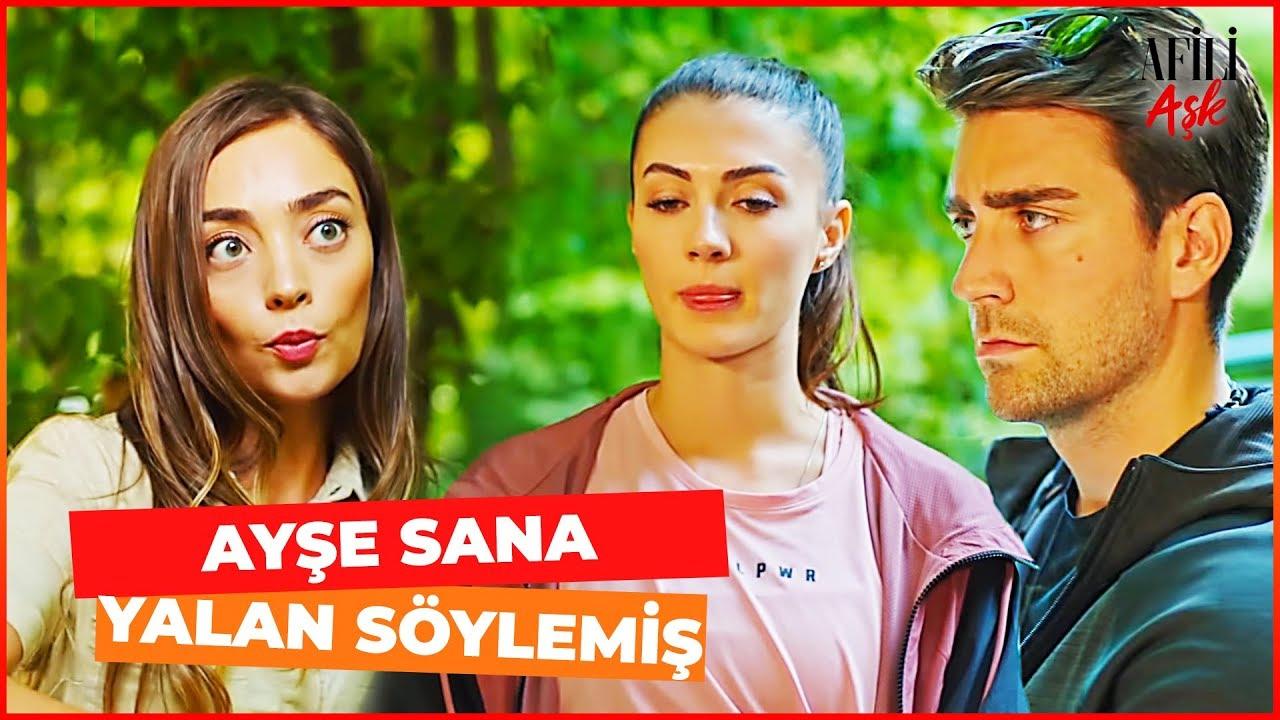 Ceyda, Ayşe ve Kerem'in Arasını Bozdu! - Afili Aşk 15. Bölüm