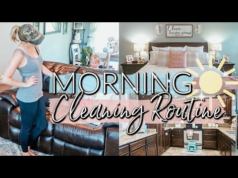 🌤MORNING CLEANING ROUTINE 2019| CLEAN WITH ME - EXTREME CLEANING MOTIVATION