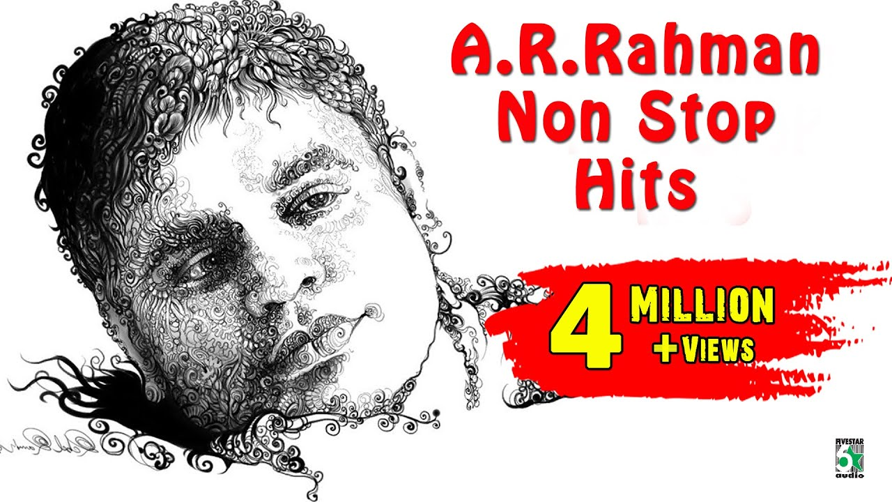 A.R.Rahman Super Hit Non Stop Audio Jukebox