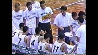 能代工業 対 洛南高校 鳥取インターハイ 準決勝 1995年 [basketball]