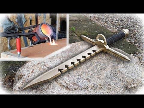 Casting Sword-Breaker Dagger Like Alec Steele