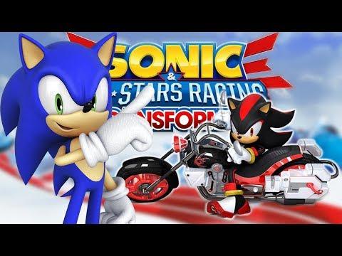 O Melhor Jogo de Kart!? - Sonic All-Stars Racing Transformed