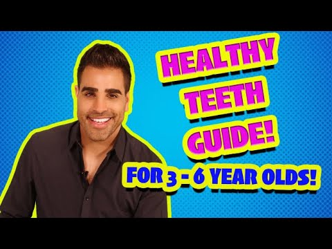 How To Care For The Teeth Of Children Aged 3-6 With Dr Ranj And Supertooth!