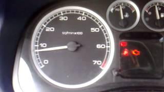 Peugeot 307 1.6 16V Wypadanie Zapłonu Antipollution fault