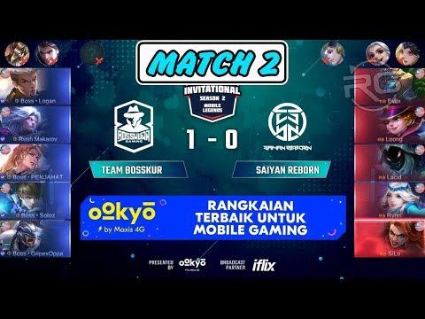 Perlawanan Terakhir !!! Team Bosskur vs Saiyan Reborn Match 2 MSL Season 2 MLBB