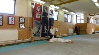 shomen uchi sankyo ura [TUTORIAL] Aikido empty hand basic technique