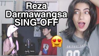 Reza Darmawangsa Shawn Mendes Camila Cabello Señorita SING OFF VS NADAFID Reaction