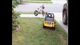 THUG LIFE: Thug kid is bad ass driver
