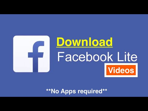 How to Download Videos from Facebook Lite w/o any App [Tutorial]