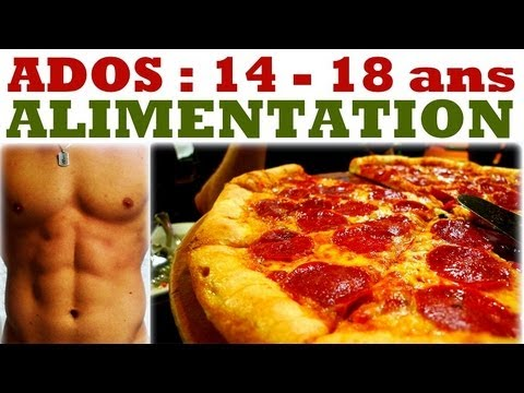 ADOLESCENTS 14-18 ans Alimentation & MUSCULATION