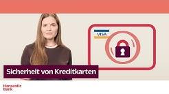 Sicherheit von Kreditkarten: Merkmale einfach erklärt von der Hanseatic Bank.