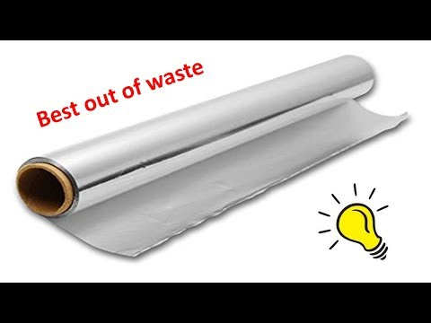 Best out of waste from Aluminium foil paper Craft| DIY Easy and Affordable DIY Coasters Craft
