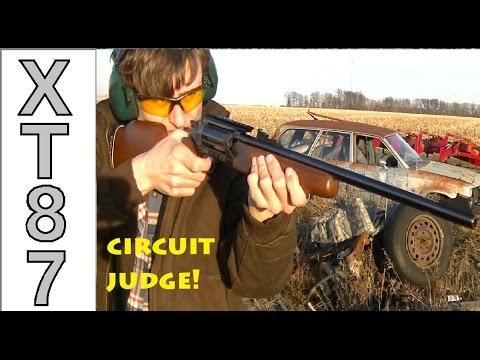 Circuit Judge [.410/ .45 Colt] Shooting!