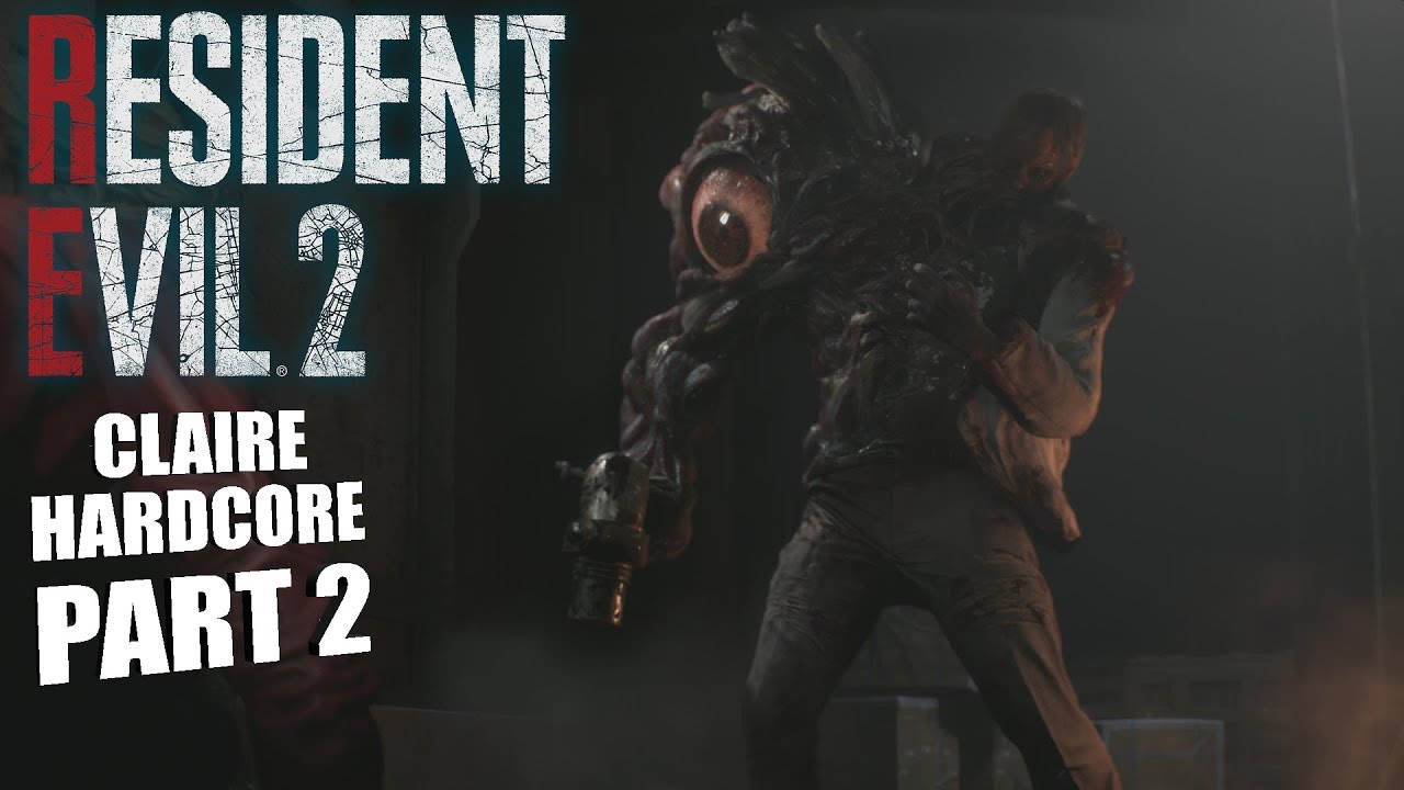 WILLIAM IS BACK! | Resident Evil 2 REMAKE CLAIRE GAMEPLAY PART 2