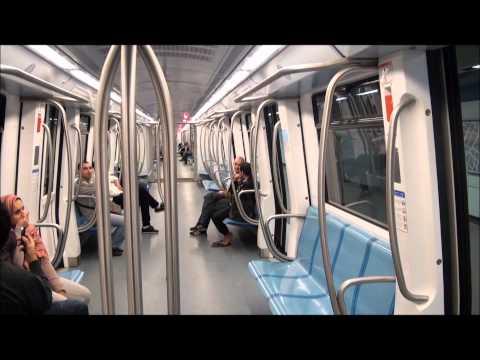 métro Alger  Algiers' underground en HD