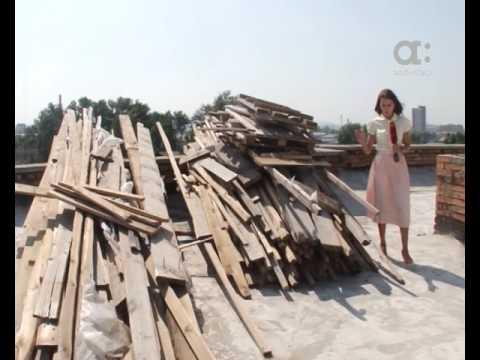 Крышу на Калинина ремонтируют девять месяцев