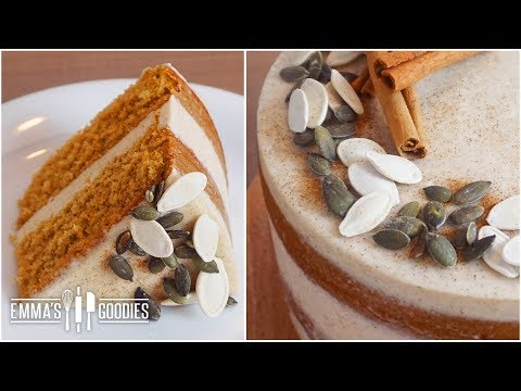 Moist Pumpkin Cake Recipe With Fresh Pumpkin!