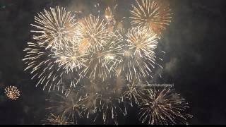 UAE 43rd National Day Fireworks at Corniche Abu Dhabi-2014