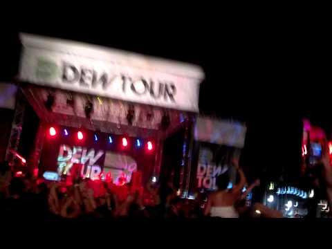 Krewella Live at Dew Tour Ocean City Maryland 2013