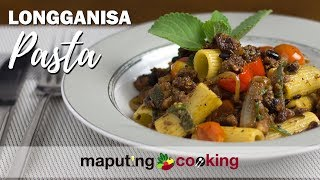 Unique Filipino Longganisa Pasta By Maputing Cooking