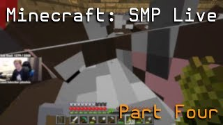 CallMeCarson VODS: Minecraft SMP Live (Part Four)