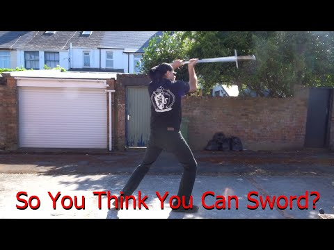 Open - Two Handed Sword - Jordan Mock (So You Think You can Sword 2020)
