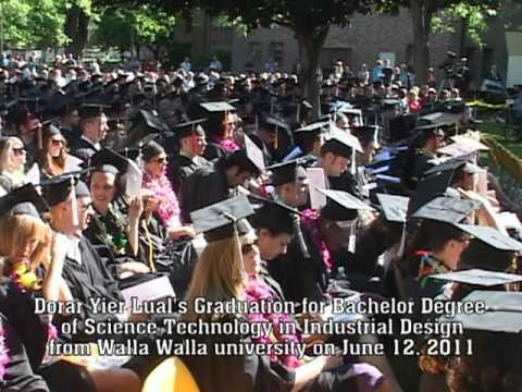 Dorar Yier Lual Graduation Ceremony