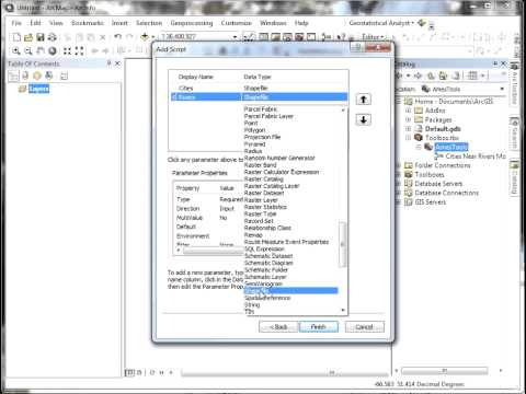 From ArcMap ModelBuilder to Python Script - a Brief Demo