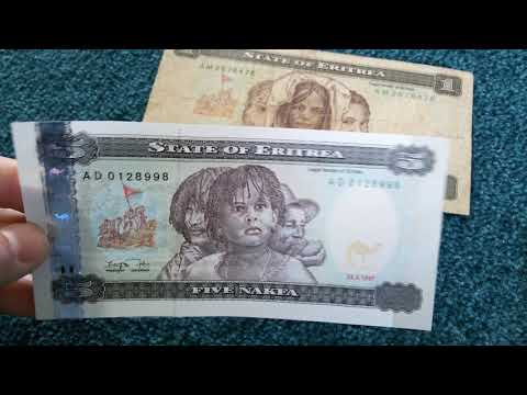 #Currency special part 53: Eritrea Nakfa