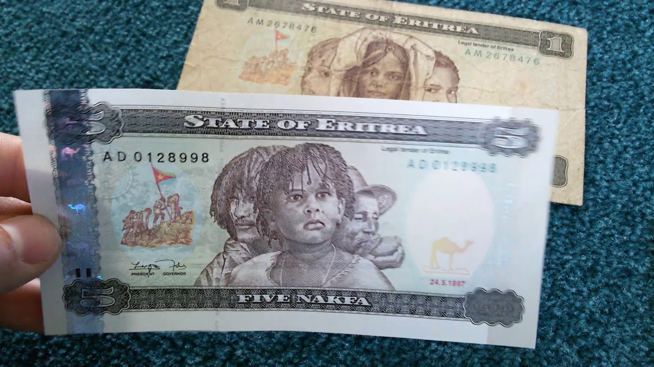Currency Special Part 53 Eritrea Nakfa