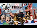 SPIDERMAN BEAT UP ALL THE BAD GUYS YEAH! (FGTeeV Marvel Spiderman PS4)