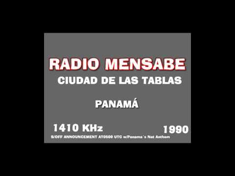 Radio Mensabe 1410 AM Panama