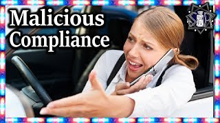 Entitled Lady Crashes Car | r/MaliciousCompliance | Ep8